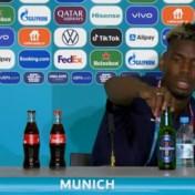 Na de cola van Ronaldo, het bier van Paul Pogba: Franse sterspeler zet flesje Heineken weg tijdens persconferentie