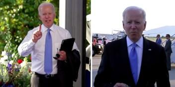 Biden excuseert zich nadat hij kortaf was tegen journaliste: 'Ik had niet zo'n wijsneus moeten zijn'