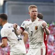 EK 2021 liveblog | Kevin De Bruyne schiet Rode Duivels nu zelf op voorsprong tegen de Denen