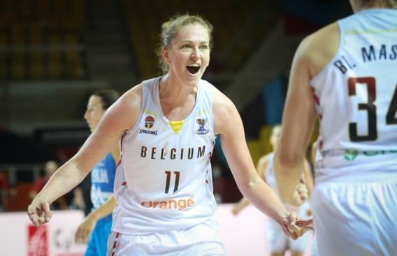 Belgian Cats herpakken zich op EK basketbal en walsen over Slovenië