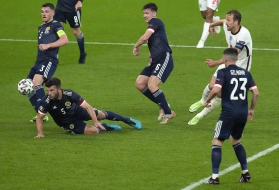 Engeland en Schotland zorgen voor boeiende pot voetbal maar vergeten te scoren