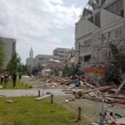 School in opbouw deels ingestort in Antwerpen: een dodelijk slachtoffer, negen in ziekenhuis