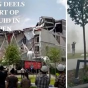 Beelden tonen ravage nadat basisschool in opbouw deels instort in Antwerpen