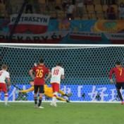 Gemiste penalty tegen Polen breekt Spanje zuur op