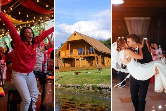 Kan ik met familie een vakantiehuisje huren en mag er gedanst worden op ons trouwfeest? Enkele vragen beantwoord