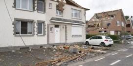 92 huizen zwaar beschadigd door tornado in Beauraing