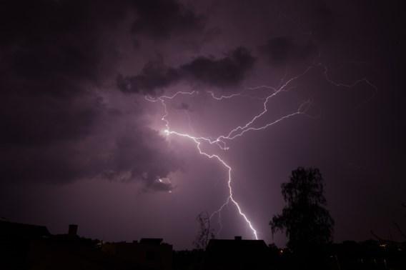 KMI waarschuwt opnieuw voor zwaar onweer