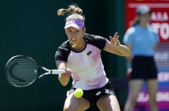 Elise Mertens strandt in halve finales dubbelspel in Birmingham