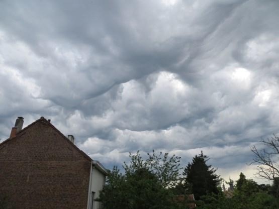 Nog steeds onweer in de lucht