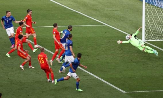Italië eindwinnaar groep A na winst tegen Wales