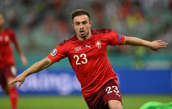 Zwitserland wint van Turkije en eindigt derde in groep A
