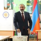 Huidig premier Pasjinjan eist overwinning verkiezingen Armenië op