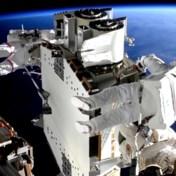 Aarde steelt show tijdens urenlange timelapse van ruimtewandeling