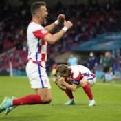 Kroatië naar de achtste finale na winst tegen Schotland