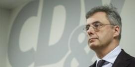 CD&V-voorzitter Joachim Coens betrokken bij ongeval met bromfiets: 'Erg geschrokken'