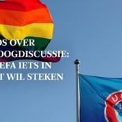 EK 2021 liveblog | Jongeman bestormt het veld in München met regenboogvlag