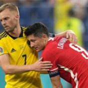 Twee doelpunten Lewandowski volstaan niet voor Polen, degelijk Zweden is groepswinnaar