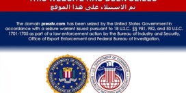 VS blokkeren Iraanse nieuwssites: 'Deze website is in beslag genomen'