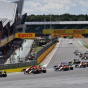 GP Formule 1 van Engeland in Silverstone voor volle tribunes