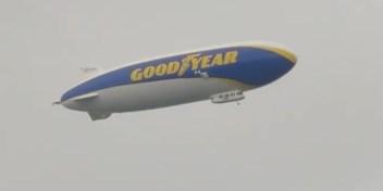 Uniek zicht: zeppelin gespot boven Limburg en Vlaams-Brabant