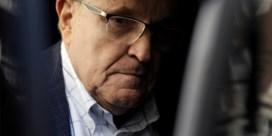 Giuliani is advocatenlicentie kwijt na leugens over verkiezingsresultaten VS