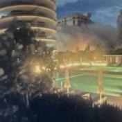 Bewakingscamera filmt moment waarop flatgebouw Miami instort