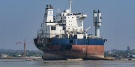 Geen straf voor sloop zeeschip op strand in Bangladesh