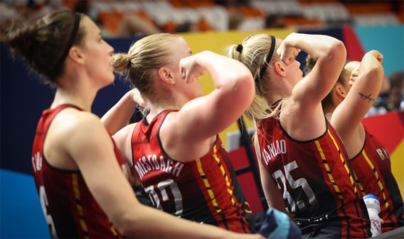 Brons voor Belgian Cats op EK basketbal
