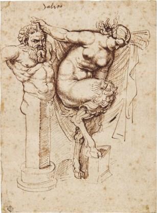Bij brand verloren gewaande tekening van Rubens ontdekt