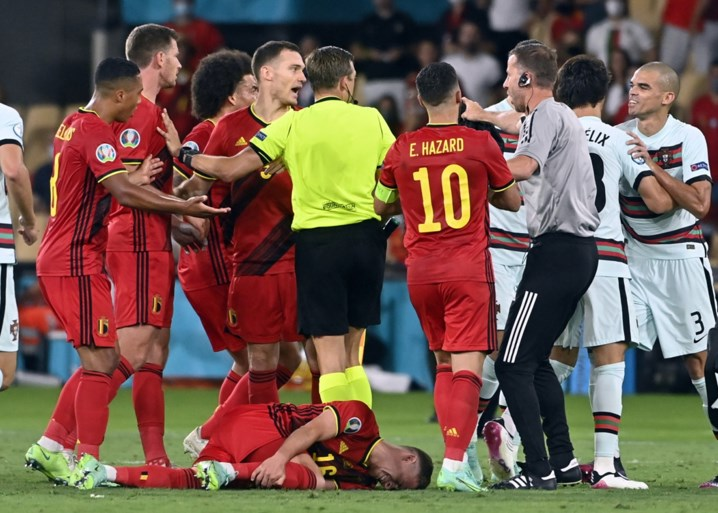 Elf Belgische krijgers knokken zich naar kwartfinale