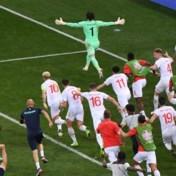 Zwitserland knikkert wereldkampioen Frankrijk uit toernooi na strafschoppen