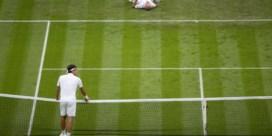 Federer plaatst zich voor tweede ronde na opgave Mannarino
