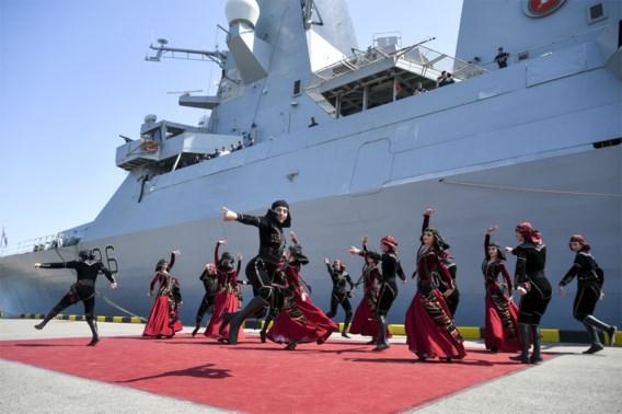 Machtsvertoon van Navo en Rusland in de Zwarte Zee