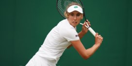 Elise Mertens blijft alleen over op Wimbledon