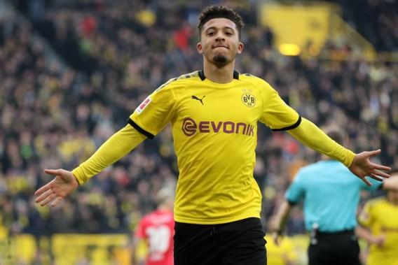 Beursdocument maakt verhuis Jadon Sancho van Dortmund naar Manchester United officieel