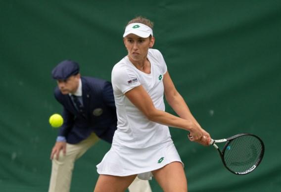 Elise Mertens wint ook in dubbelspel op Wimbledon: geplaatst voor tweede ronde