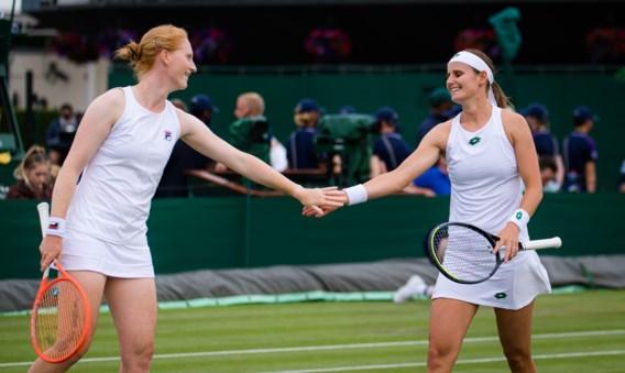Dubbelduo Minnen en Van Uytvanck raken niet verder dan tweede ronde op Wimbledon