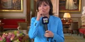 Emotionele Linda De Win krijgt het even moeilijk bij afscheid 'Villa Politica'