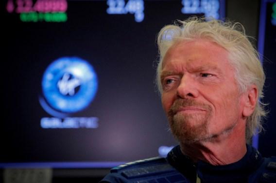 Virgin-stichter Richard Branson wil op 11 juli de ruimte in, vóór Jeff Bezos