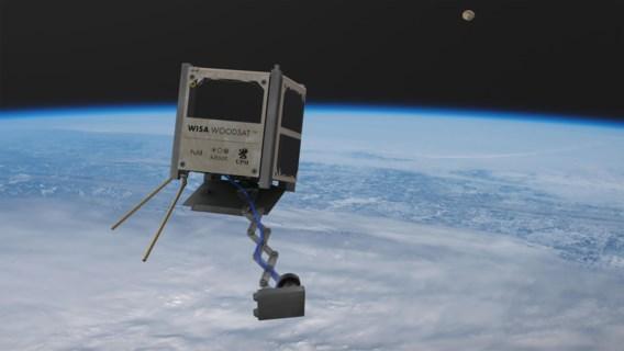 Worden satellieten in de toekomst uit triplex gemaakt?