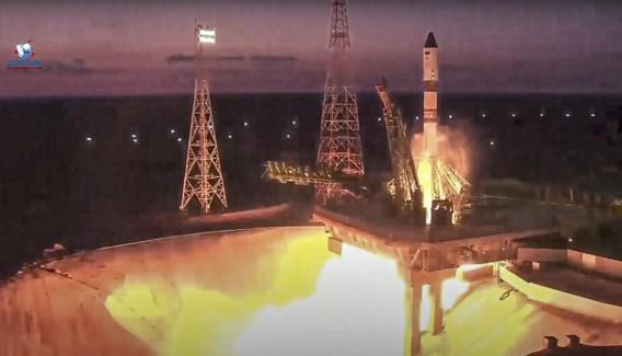 Russische vrachtruimteschip koppelt aan ruimtestation ISS