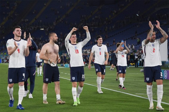 Engeland walst over Oekraïne naar halve finale tegen Denemarken