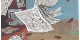Het leven van een krant