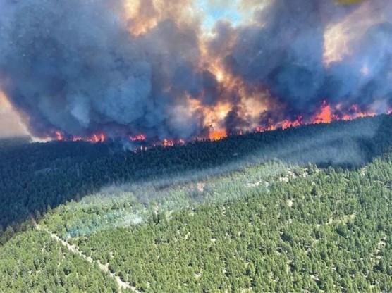 Meer dan 130 branden in westen Canada en Californië