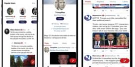 Trump-getrouwen lanceren nieuwe app, Gettr