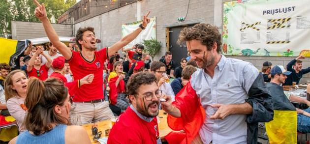 In beeld   Zo werd België-Italië beleefd in Gent