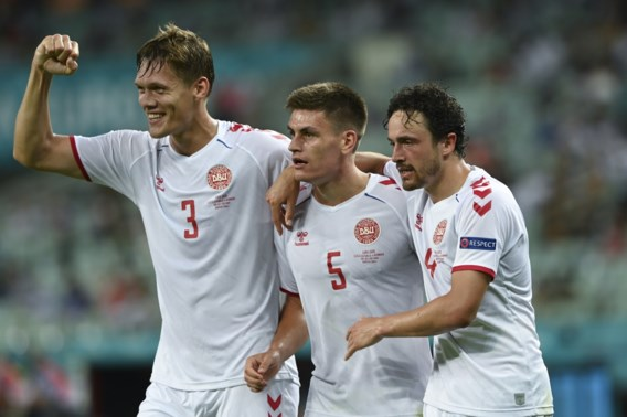 De Deense droom blijft duren: Denemarken klopt Tsjechië ondanks moeilijke tweede helft en staat in de halve finale