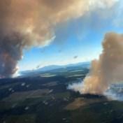 Hevige branden in Canada veroorzaken zeldzaam weerfenomeen
