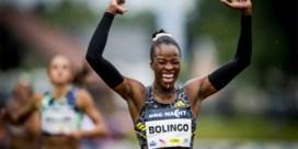 Belgische sprintster Cynthia Bolingo snelste Europese