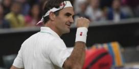 Roger Federer schaart zich zonder problemen bij de laatste acht op Wimbledon